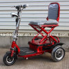 De volwassen 350W Vouwbare 3-wiel e-Autoped van de Mobiliteit met Ce