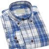 Chemise occasionnelle de longs de chemise d'OEM d'usine de coton de chemise hommes de mode
