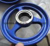 OEM/ODM Spray-Lack-Sand-Gussteil-Stahl-Handrad
