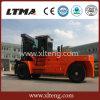 中国の最大のフォークリフト30トンのディーゼルフォークリフトの価格