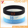 Incandescenza di modo nel Wristband scuro del silicone per il regalo di promozione