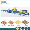 Linha de produção da máquina de fazer paletes de madeira de alta eficiência