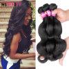 Armure de cheveux humains de Remy de cheveu de Vierge de Brésilien de la vente en gros 100%
