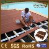 Decking en plastique en bois du composé WPC de plancher en bois composé