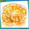 Zeichenkettelichtleuchter kupfernen des Drahts des Fabrik-Preis-LED