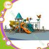 Corrediça ao ar livre plástica do campo de jogos do divertimento das crianças para a venda