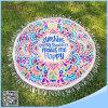 円形タオルの曼荼羅のビーチタオルの印刷されたビーチタオル