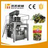 Máquina de empacotamento verde-oliva giratória automática da máquina de embalagem do malote