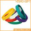Custom Logo (YB-w-017)를 가진 높은 Quality Debossed Silicone Wristband