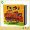 Impressão lustrosa personalizada do livro do cartão das crianças profissionais coloridas (CKT-BK-002)