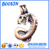 Retro Metal Snake Shape Pendant per Necklace