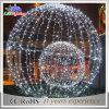 Grandi indicatori luminosi delle sfere del LED di motivo 3D di natale impermeabile della decorazione