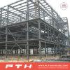 El profesional diseñó el almacén de la estructura de acero con la instalación fácil