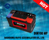 батареи 12V загерметизированные DIN100 безуходные автоматические
