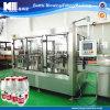 Cadena de producción de relleno en botella de llavero del agua pura