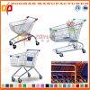 Supermarkt-Zink-oder Chrom-Einkaufswagen-Laufkatze (Zht57)