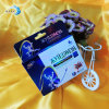 Santé adaptée aux besoins du client de caisse d'emballage de papier de carte/caisse d'emballage imprimée