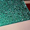 Folha gravada da textura da proteção policarbonato UV para a decoração interna ou ao ar livre