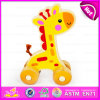 2015 Pull en bois String Toy pour Baby, Hot Sale Wooden Pull String Toy, Educational Wooden Pull String Toy W05b125