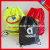 Printed Advertizing Nylon Backpack String Bag