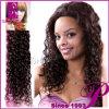 加工されていない巻き毛の100%年のバージンのインドのRemyの人間の毛髪