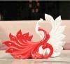 Pavão Handmade Love Greet Craft de Wedding Gift Pottery Home Decor para Family e Lover