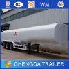 del petrolero 30kl40kl del acoplado acoplado semi, acoplado del petrolero del combustible de 3axle 40ton