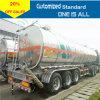 Трейлер топливозаправщика тележки масла Axles 45m3 Китая сверхмощный 3