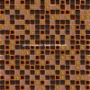 Miscela Series Wall Mosaic con Ceramic & Glass & Aluminum Alloy