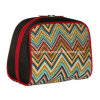 Nuevo Fashion Cute Travel Makeup Cosmetic Bag con Double Pullers