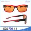Gafas de sol cuadradas coloridas unisex de los deportes al aire libre de la inyección de la PC
