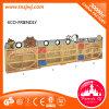 Estante de canto das estantes longas baratas de madeira novas da estante para a venda