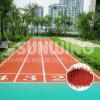 Plancher courant bon marché chinois de gymnastique de piste d'EPDM