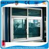 Finestra di scivolamento orizzontale di alluminio di vetro Tempered per l'ufficio