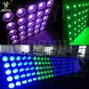 25X10W calientan la luz blanca del efecto de la anteojera de la matriz del LED