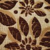 部分のDye Patternおよび100%年のPolyester Chenille Fabric