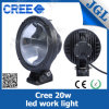 diodo emissor de luz Motorcycle Driving Light do CREE 20W para em-Raod e off-Road