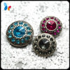 Form Crystal Plastic Shank Button mit Diamonds