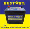 Auto Battery Factory 12V Battery für Trucks Car Battery 12V60ah 55D23r