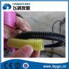 PVC-einzelne Wand-gewölbte Rohr-maschinelle Herstellung-Zeile