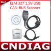 USB 1.5V металла Elm327 Elm 327 Может-Bus Scanner Elm327 Software