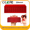 Water sem fio Cube Stereo Bluthooth Speakers Ative para Music Studio com USB SD FM Function