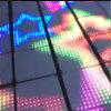 DJの照明はつけられた対話型LEDのダンス・フロアを作る