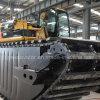 Ponton hydraulique de train d'atterrissage pour l'excavatrice amphibie