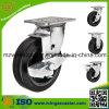 頑丈なゴム製足車の車輪
