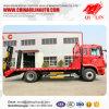 4X2 Vrachtwagen van het Bed van het Type van aandrijving de Lage met de AchterHelling van de Lengte van 700mm