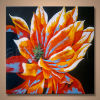Grande pittura a olio astratta moderna Handmade all'ingrosso del fiore