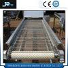 Convoyeur à bande industriel de treillis métallique de plat d'acier inoxydable de qualité