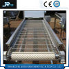 Qualitäts-industrieller Edelstahl-Flachdraht-Ineinander greifen-Bandförderer