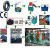 Überschüssiger Gummireifen, der Maschinen-Gummipuder-Produktionszweig aufbereitet